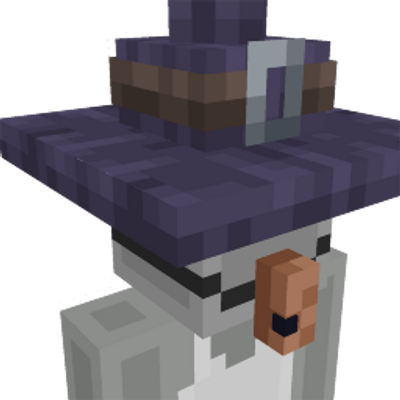 Witch costume on the Minecraft Marketplace by Square Dreams