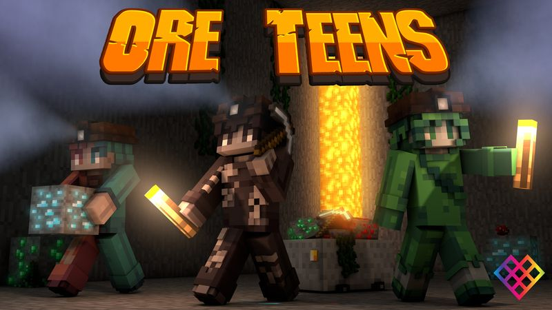 Ore Teens on the Minecraft Marketplace by Rainbow Theory