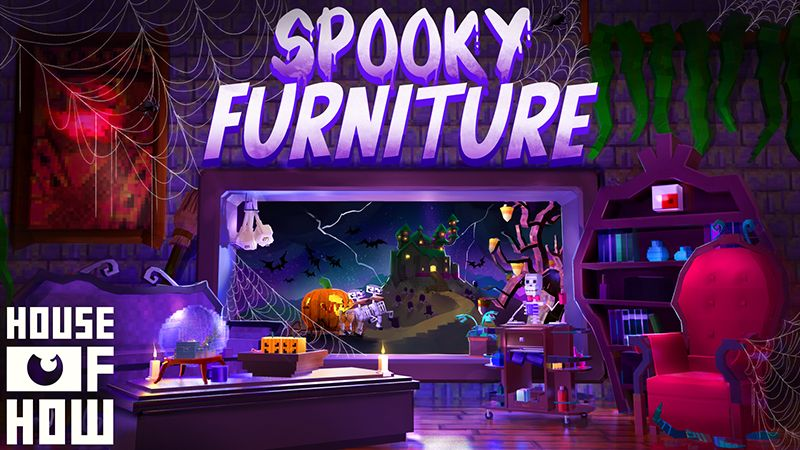 Spooky Furniture on the Minecraft Marketplace by House of How