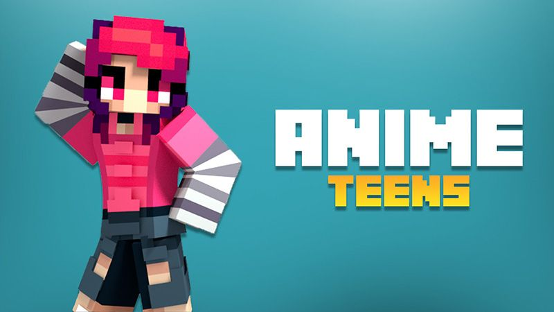 Anime Teens on the Minecraft Marketplace by Aurrora