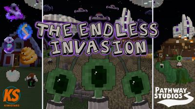 The Endless Invasion on the Minecraft Marketplace by Pathway Studios