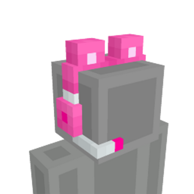Pink Gamer Headphones on the Minecraft Marketplace by Blu Shutter Bug