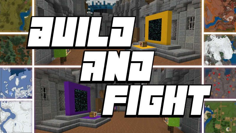 Build  Fight on the Minecraft Marketplace by QwertyuiopThePie
