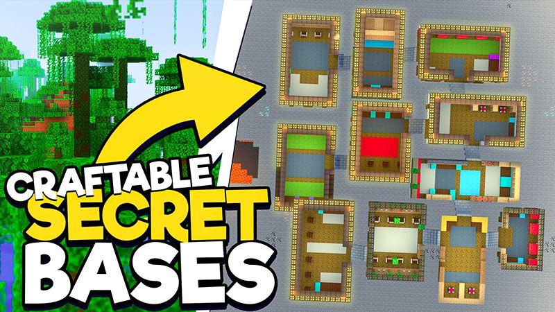Craftable Secret Bases on the Minecraft Marketplace by 4KS Studios