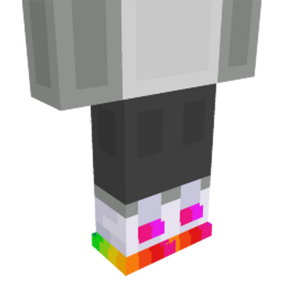 Rainbow Sneakers on the Minecraft Marketplace by Team Workbench