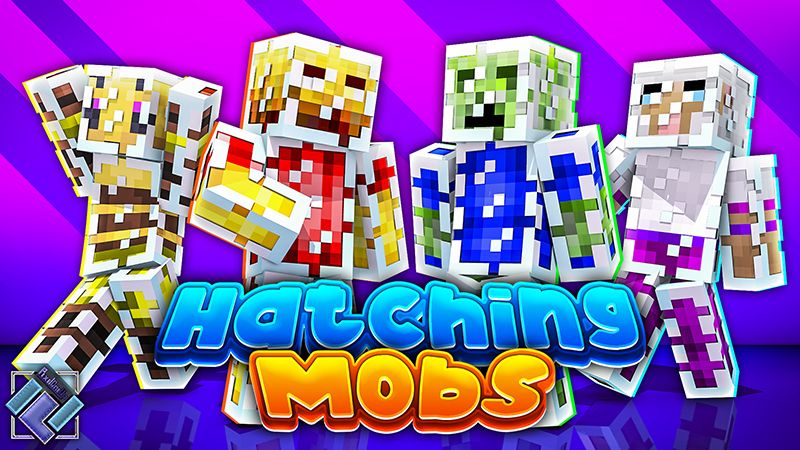 Hatching Mobs on the Minecraft Marketplace by PixelOneUp