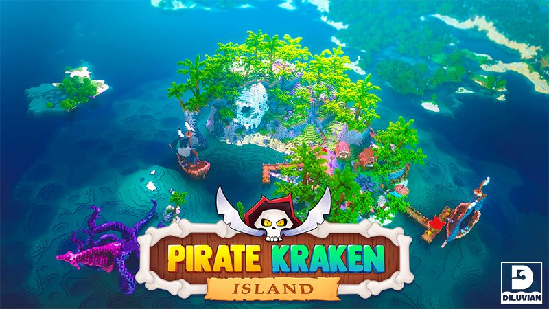 Pirate Kraken Island on the Minecraft Marketplace by Diluvian
