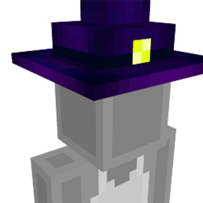 Witch Hat on the Minecraft Marketplace by CubeCraft Games