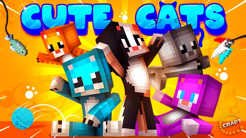 Cute Cats on the Minecraft Marketplace by The Craft Stars
