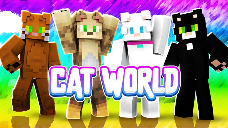 Cat World on the Minecraft Marketplace by Sapphire Studios