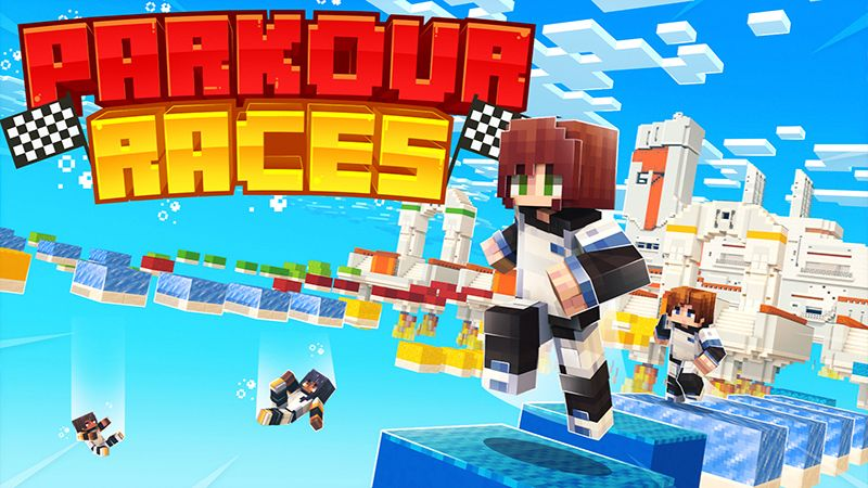 Parkour Races on the Minecraft Marketplace by Norvale