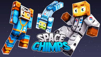 Space Chimps on the Minecraft Marketplace by 57Digital
