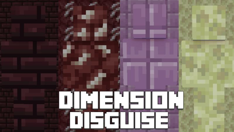 Dimension Disguise on the Minecraft Marketplace by Pixelationz Studios