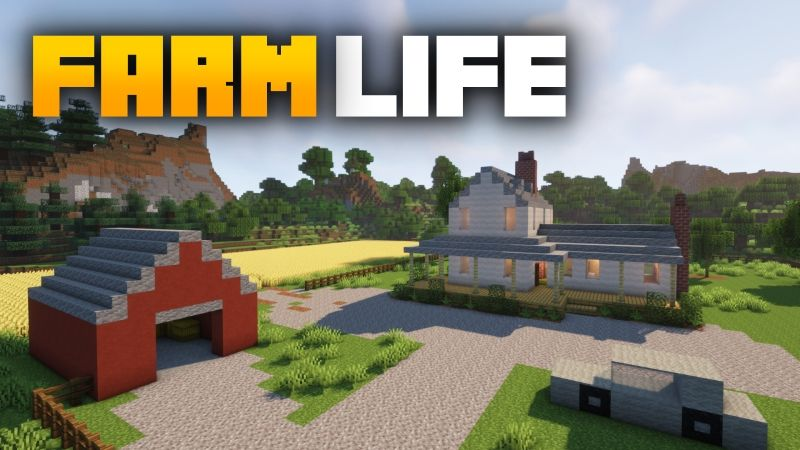 Farm Life on the Minecraft Marketplace by Fall Studios