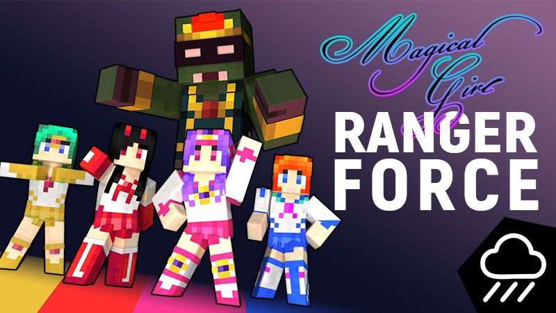 Magical Girl Ranger Force on the Minecraft Marketplace by Rainstorm Studios
