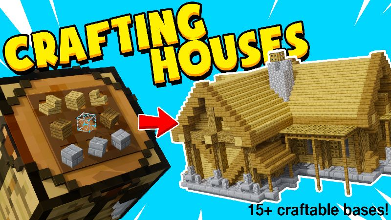 CRAFTING HOUSES on the Minecraft Marketplace by Chunklabs