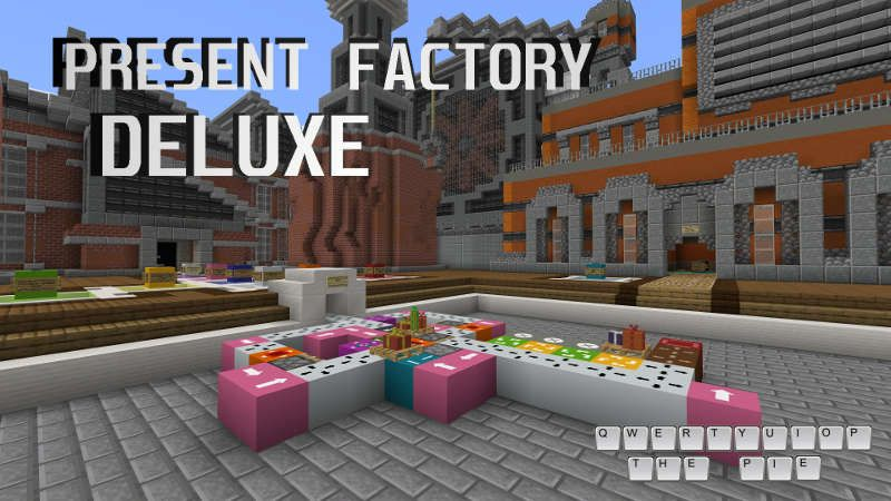 Present Factory Deluxe on the Minecraft Marketplace by QwertyuiopThePie