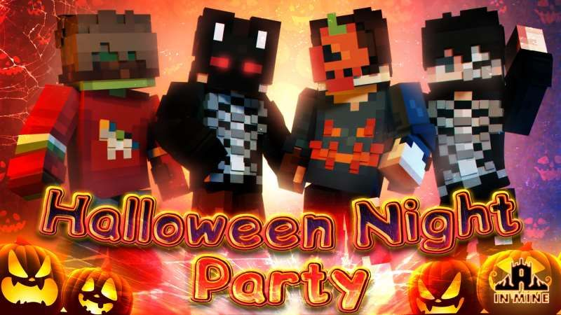 Halloween Night Party on the Minecraft Marketplace by In Mine