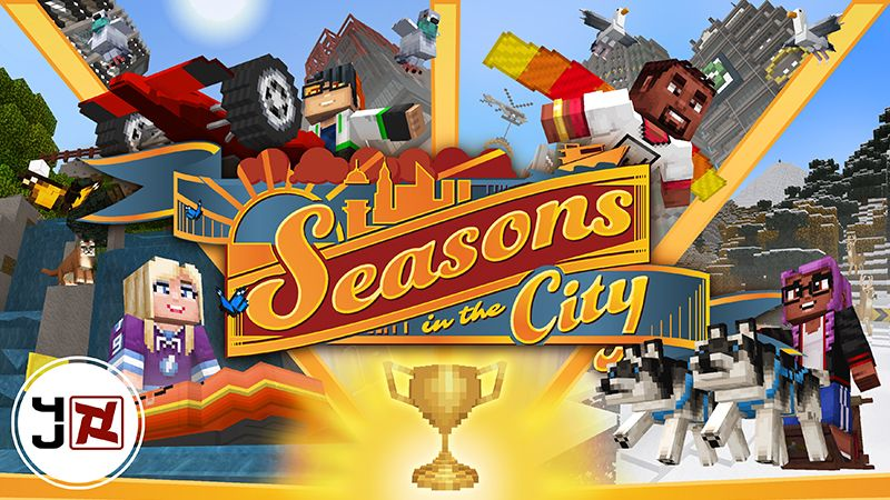 Seasons in the City on the Minecraft Marketplace by 4J Studios