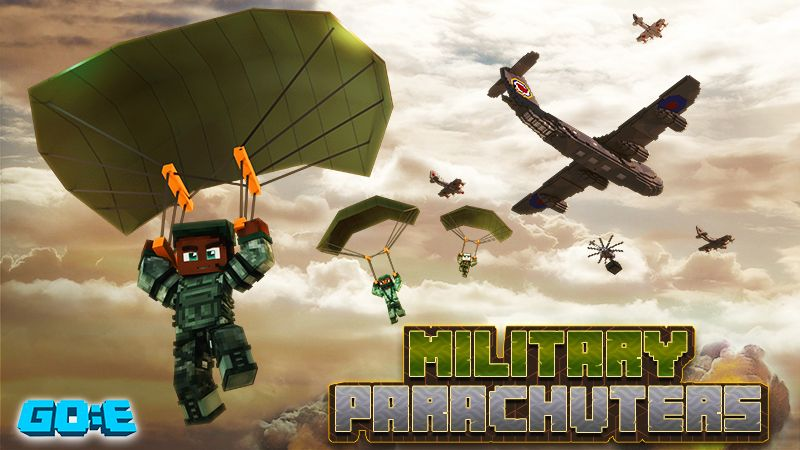 Military Parachuters on the Minecraft Marketplace by GoE-Craft