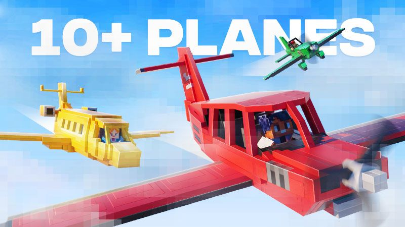 Planes on the Minecraft Marketplace by Spark Universe