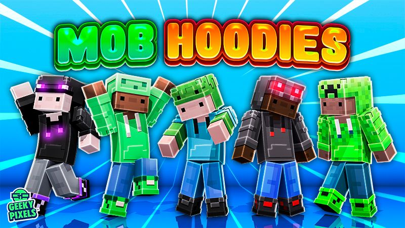 Mob Hoodies on the Minecraft Marketplace by Geeky Pixels