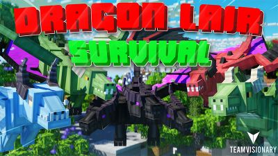 Dragon Lair Survival on the Minecraft Marketplace by Team Visionary