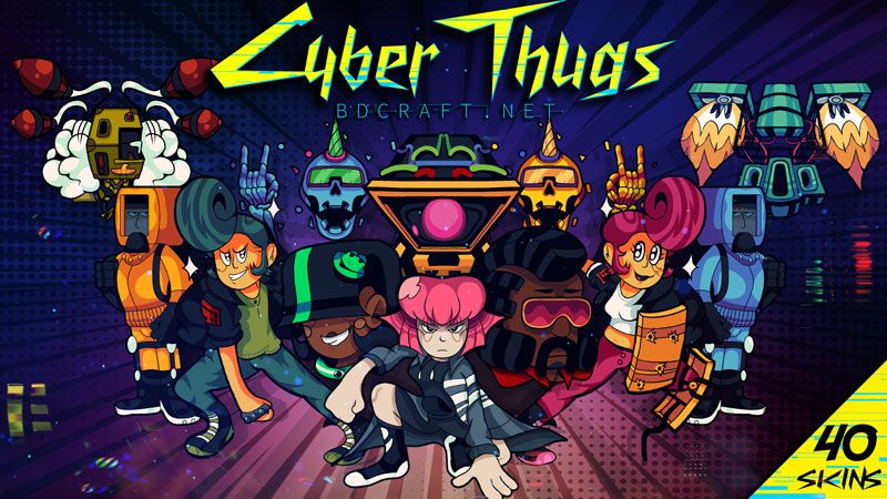 Cyber Thugs Skins on the Minecraft Marketplace by BDcraft