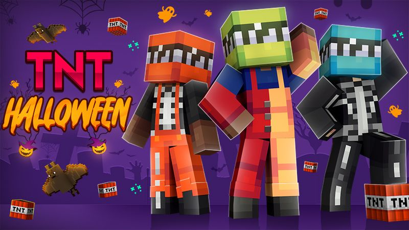 TNT Halloween on the Minecraft Marketplace by The Craft Stars