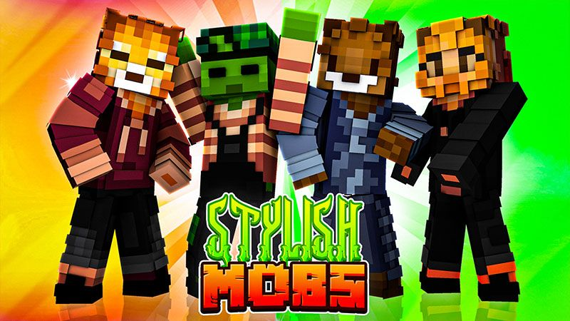 Stylish Mobs on the Minecraft Marketplace by Odyssey Builds