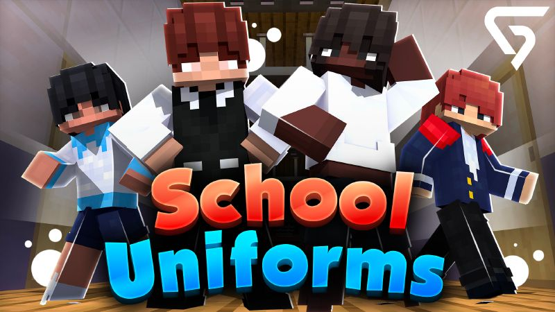 School Uniforms on the Minecraft Marketplace by Glorious Studios