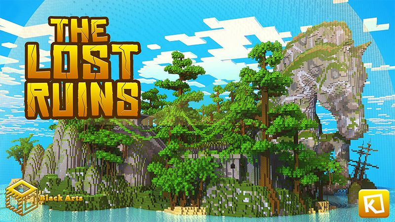 The Lost Ruins on the Minecraft Marketplace by Black Arts Studios