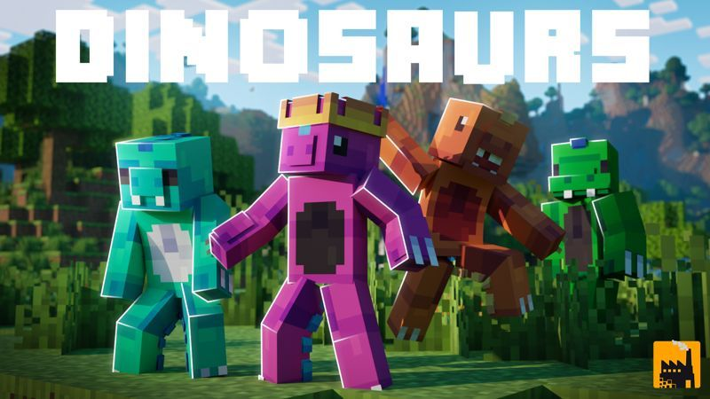 Dinosaurs on the Minecraft Marketplace by Block Factory