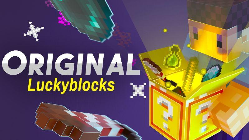 Original Luckyblocks on the Minecraft Marketplace by Sapphire Studios