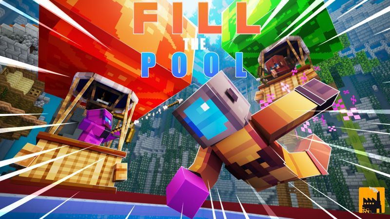 Fill The Pool on the Minecraft Marketplace by Block Factory