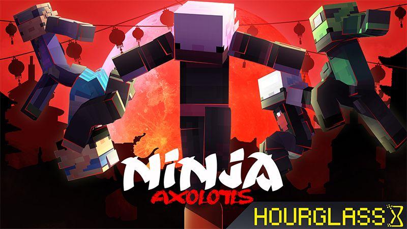 Ninja Axolotls on the Minecraft Marketplace by Hourglass Studios