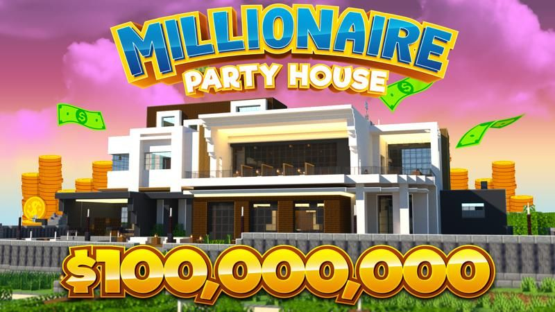 Millionaire Party House on the Minecraft Marketplace by 4KS Studios