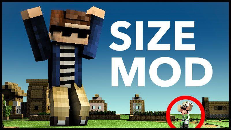 Size Modification on the Minecraft Marketplace by Minetite