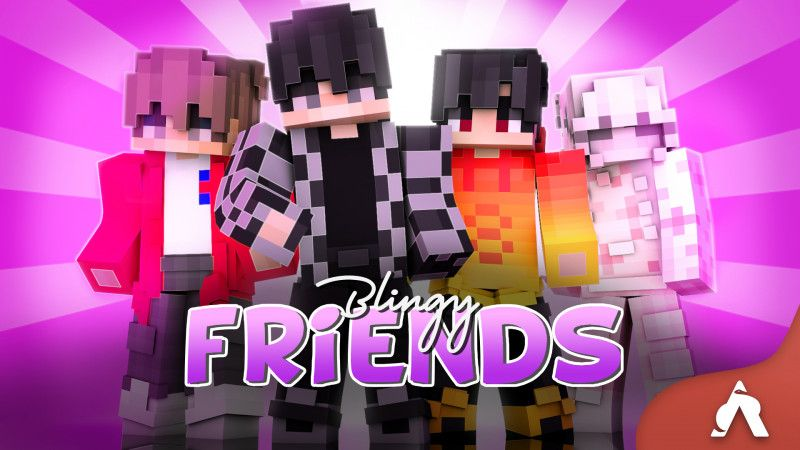 Blingy Friends on the Minecraft Marketplace by Atheris Games