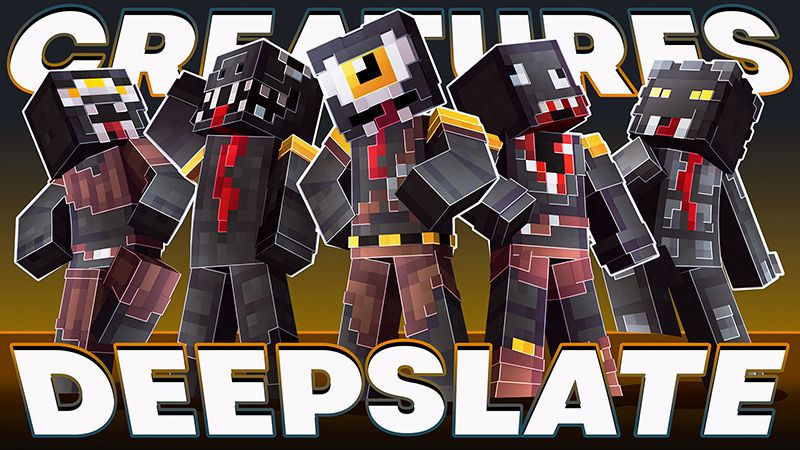 Deepslate Creatures on the Minecraft Marketplace by Dig Down Studios