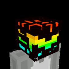Rainbow Power Helmet on the Minecraft Marketplace by Magefall