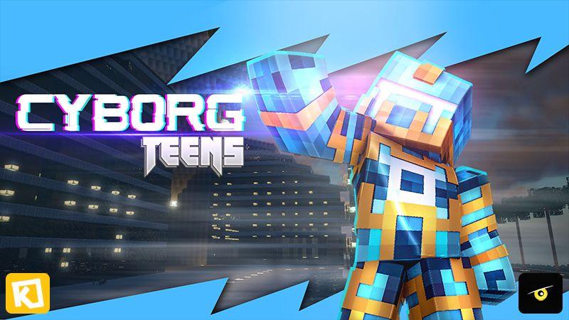 Cyborg Teens on the Minecraft Marketplace by Kuboc Studios