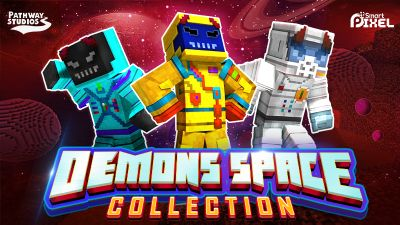 Demons Space Collection on the Minecraft Marketplace by Pathway Studios