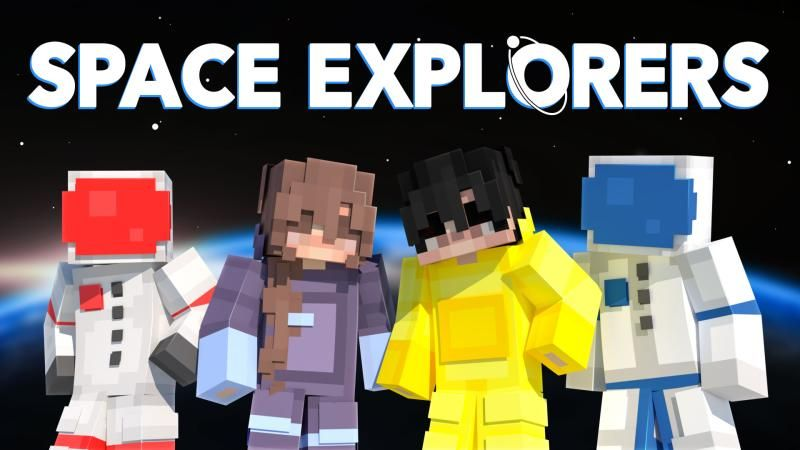 Space Explorers on the Minecraft Marketplace by Podcrash
