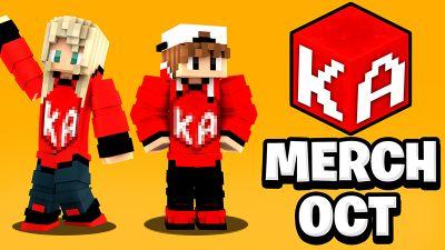 KA Studios Merch OCT Drop on the Minecraft Marketplace by KA Studios