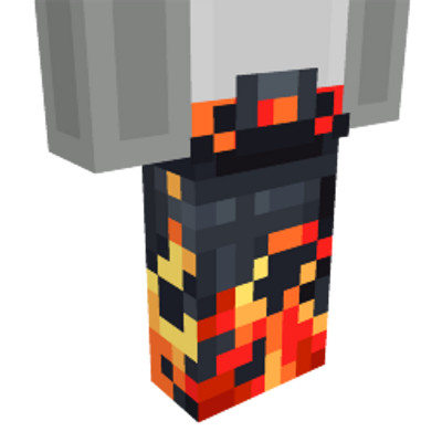Flowing Lava Pants on the Minecraft Marketplace by TNTgames