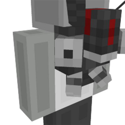 Stealth Robot Jetpack on the Minecraft Marketplace by Odd Block