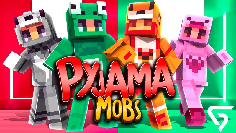 Pyjama Mobs on the Minecraft Marketplace by Glorious Studios