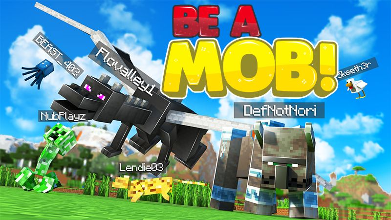 Be a Mob on the Minecraft Marketplace by 4KS Studios