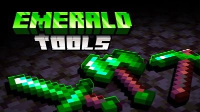 Emerald Tools on the Minecraft Marketplace by SNDBX